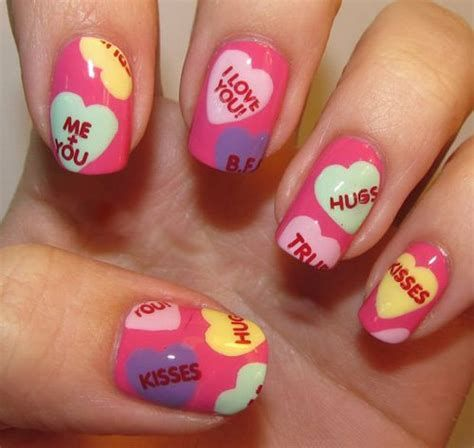 Beautiful Nail Designs For Valentines Day 03