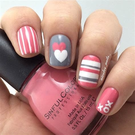 Beautiful Nail Designs For Valentines Day 06