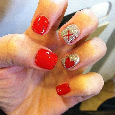 Beautiful Nail Designs For Valentines Day 08