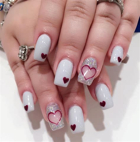 Beautiful Nail Designs For Valentines Day 10