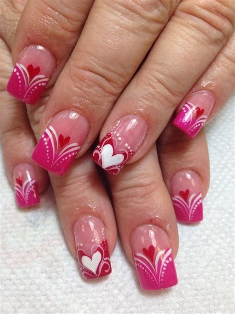 Beautiful Nail Designs For Valentines Day 11