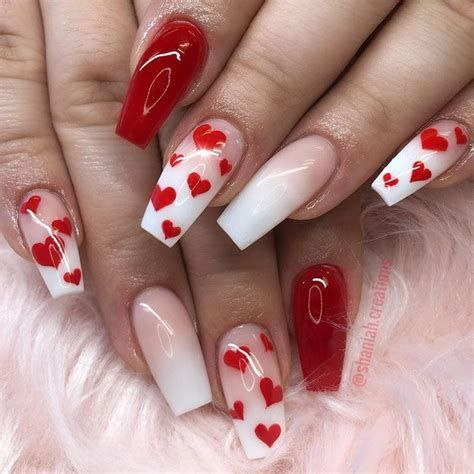 Beautiful Nail Designs For Valentines Day 14