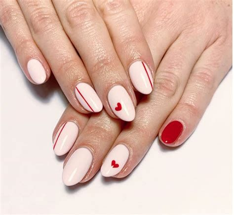 Beautiful Nail Designs For Valentines Day 15