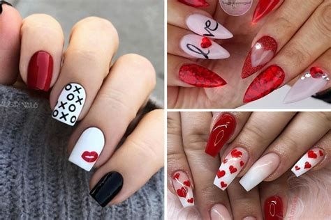Beautiful Nail Designs For Valentines Day 18