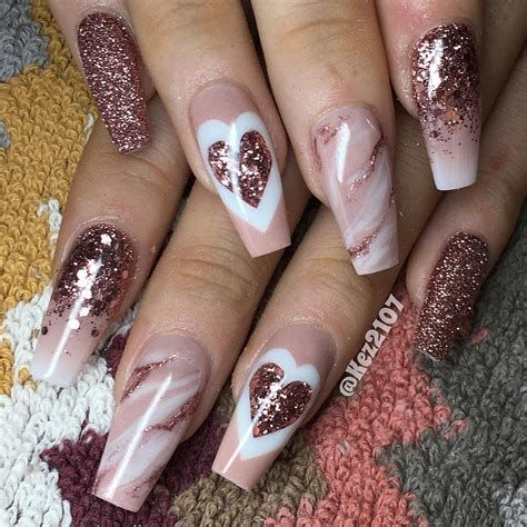 Beautiful Nail Designs For Valentines Day 19