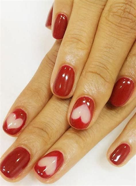 Beautiful Nail Designs For Valentines Day 24