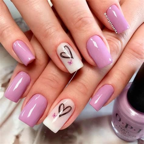 Beautiful Nail Designs For Valentines Day 25