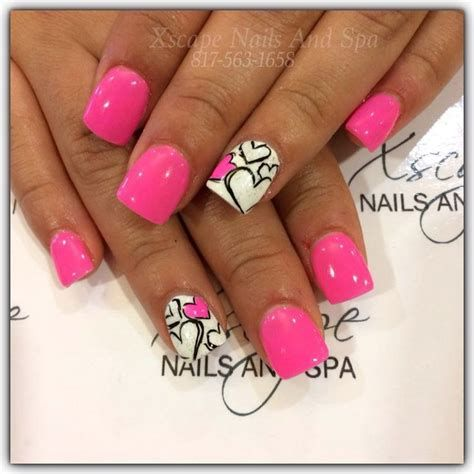 Beautiful Nail Designs For Valentines Day 29
