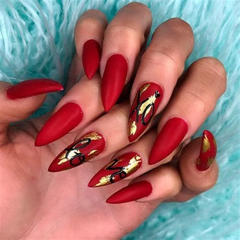 Beautiful Nail Designs For Valentines Day 34