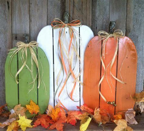 Beautiful Wooden Pumpkins For Yard 06