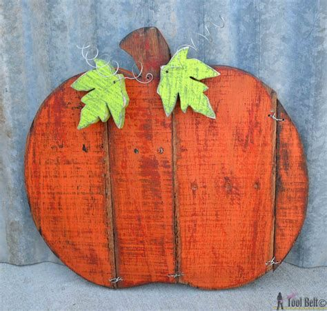 Beautiful Wooden Pumpkins For Yard 10