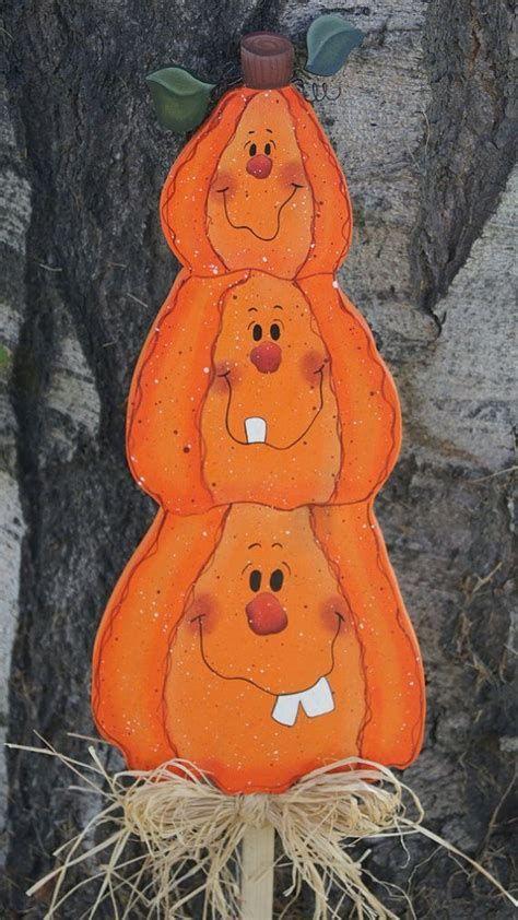 Beautiful Wooden Pumpkins For Yard 21
