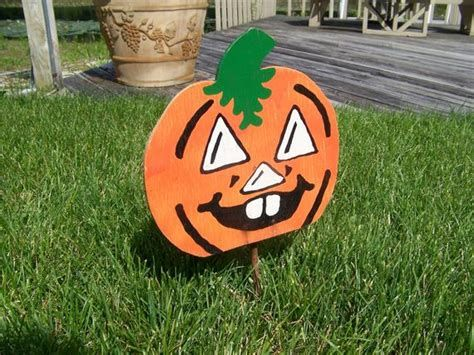 Beautiful Wooden Pumpkins For Yard 22
