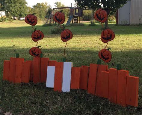 Beautiful Wooden Pumpkins For Yard 27