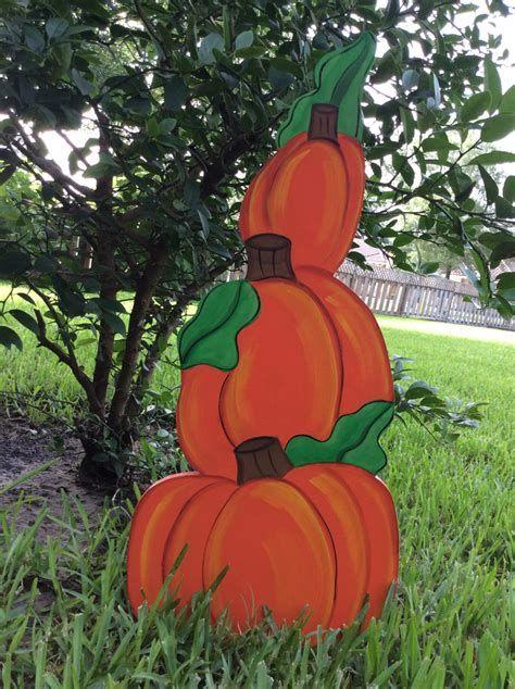 Beautiful Wooden Pumpkins For Yard 31