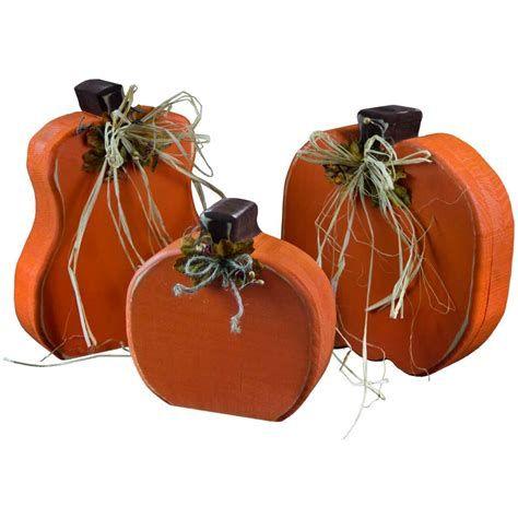 Beautiful Wooden Pumpkins For Yard 32