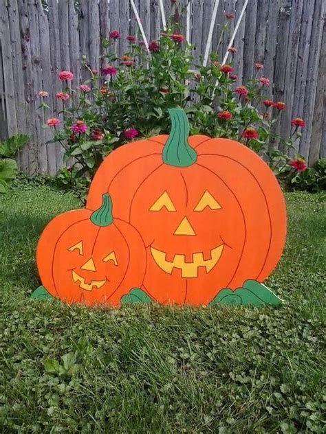Beautiful Wooden Pumpkins For Yard 34