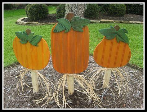 Beautiful Wooden Pumpkins For Yard 39