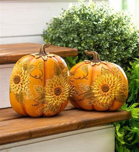 Beautiful Wooden Pumpkins For Yard 41