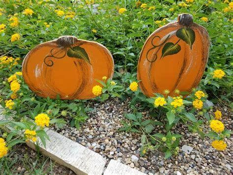 Beautiful Wooden Pumpkins For Yard 42