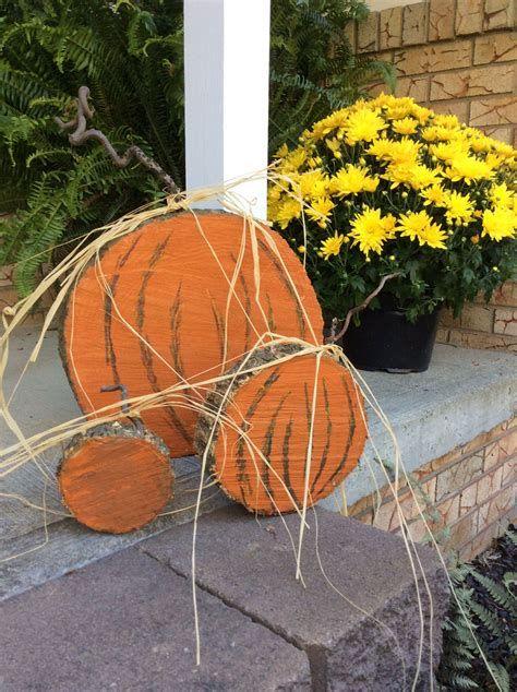 Beautiful Wooden Pumpkins For Yard 43
