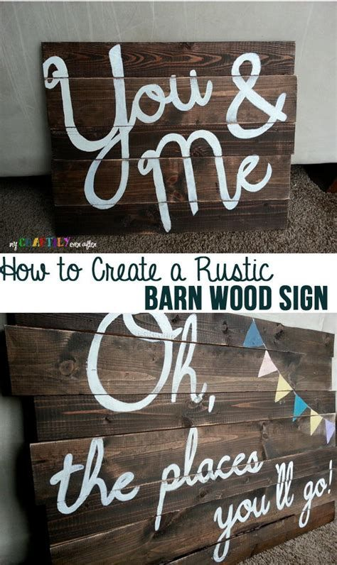 Brilliant Rustic Wood Signs Diy 43