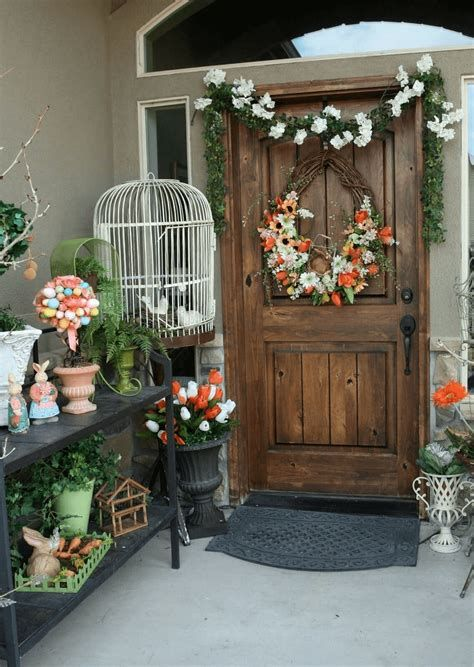 Comfortable Front Porch Decoration Ideas 30