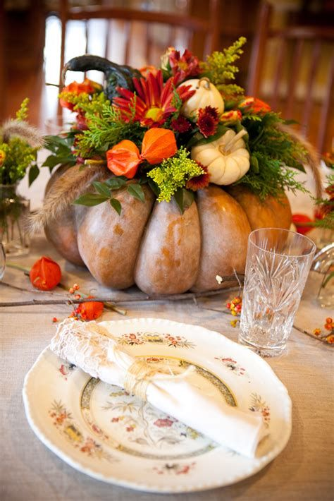 Cool Table Centerpiece For Thanksgiving 01