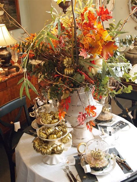 Cool Table Centerpiece For Thanksgiving 02