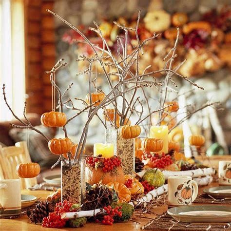 Cool Table Centerpiece For Thanksgiving 04