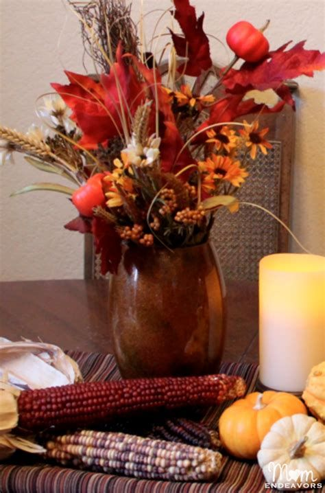 Cool Table Centerpiece For Thanksgiving 05