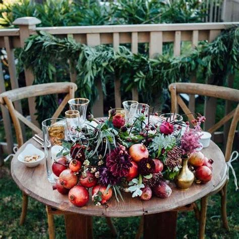 Cool Table Centerpiece For Thanksgiving 06