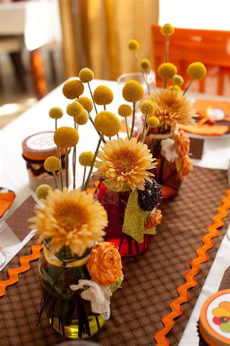 Cool Table Centerpiece For Thanksgiving 08