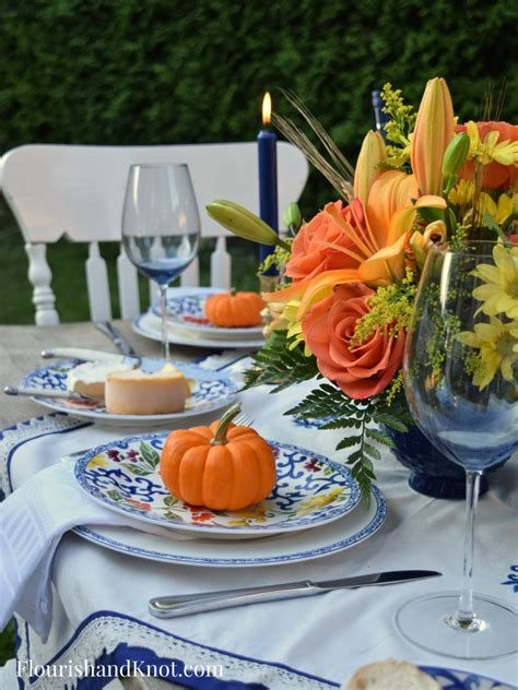 Cool Table Centerpiece For Thanksgiving 09