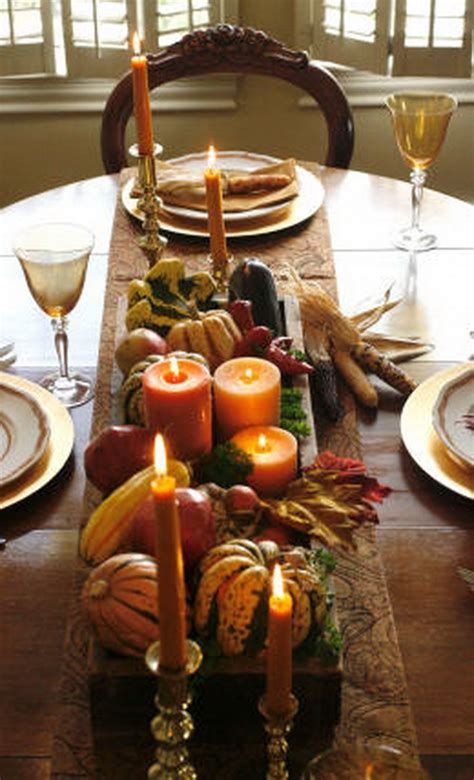 Cool Table Centerpiece For Thanksgiving 12