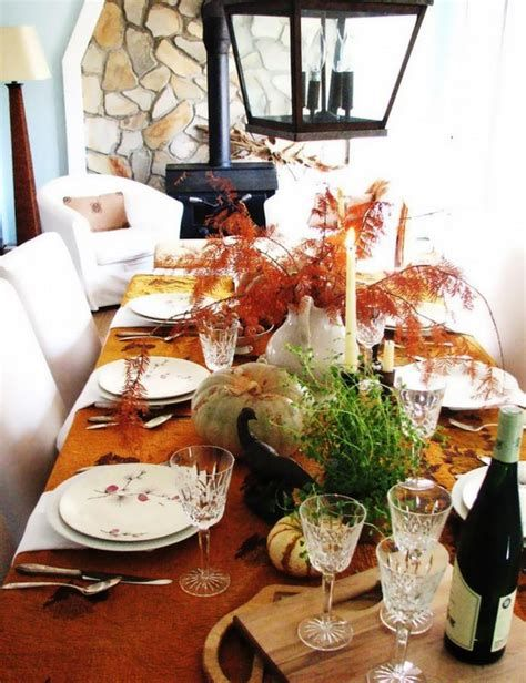 Cool Table Centerpiece For Thanksgiving 15