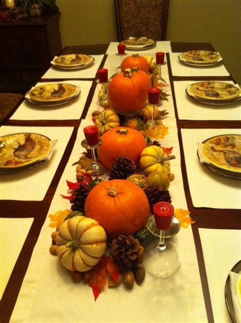 Cool Table Centerpiece For Thanksgiving 19