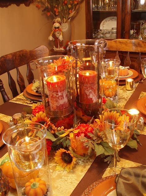 Cool Table Centerpiece For Thanksgiving 20