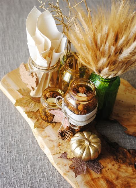 Cool Table Centerpiece For Thanksgiving 21