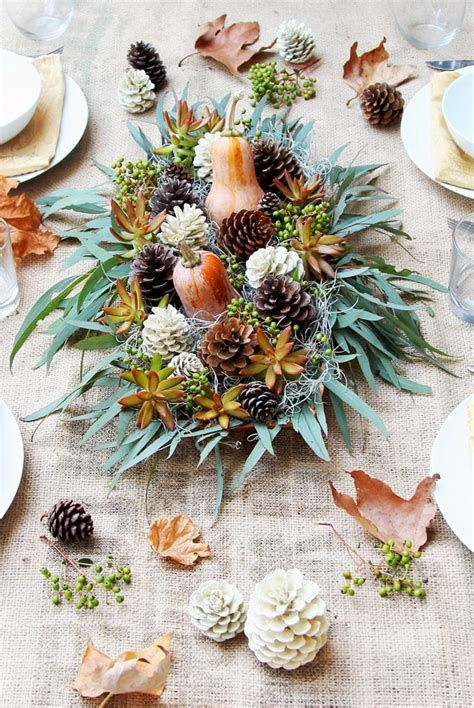 Cool Table Centerpiece For Thanksgiving 23