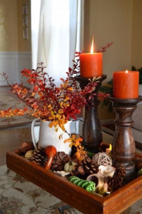 Cool Table Centerpiece For Thanksgiving 25