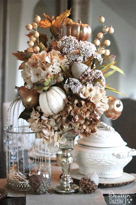 Cool Table Centerpiece For Thanksgiving 34