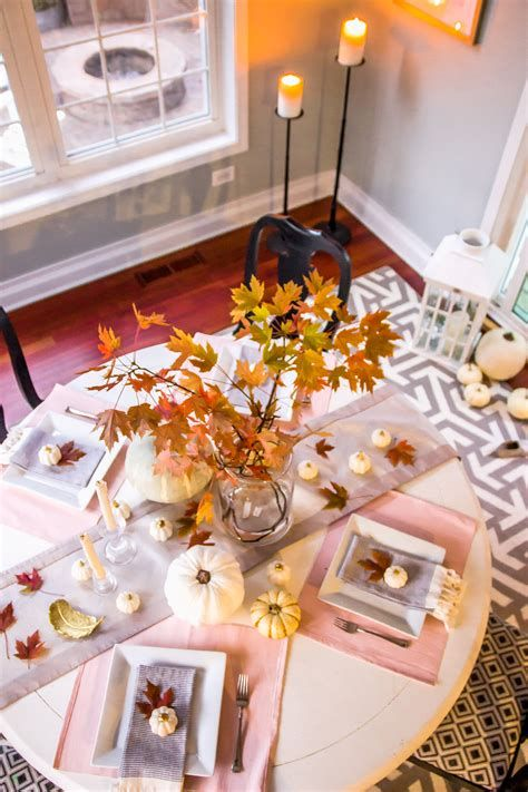 Cool Table Centerpiece For Thanksgiving 36