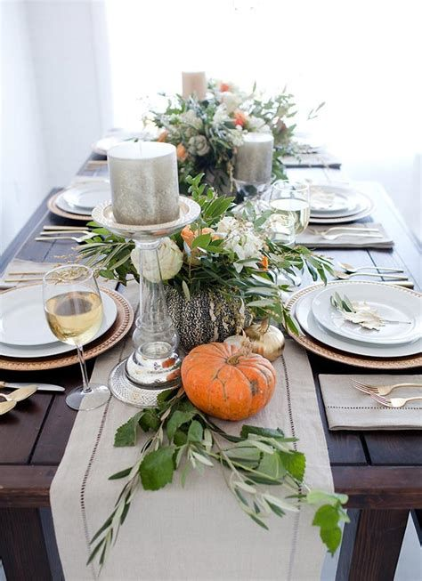 Cool Table Centerpiece For Thanksgiving 42