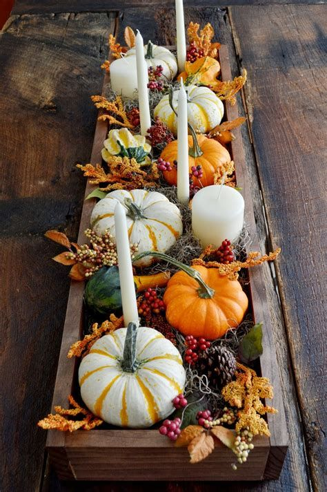 Cool Table Centerpiece For Thanksgiving 45