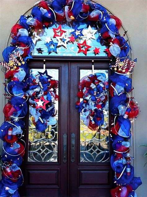Cozy 4th Of July Door Decorations 01