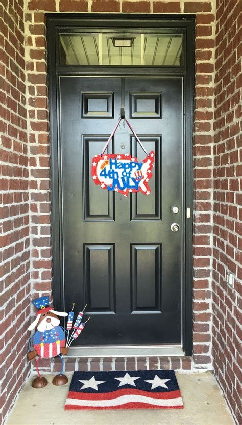 Cozy 4th Of July Door Decorations 02