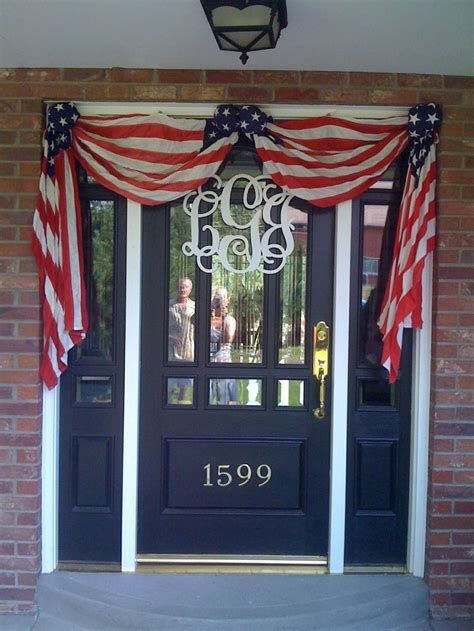 Cozy 4th Of July Door Decorations 04