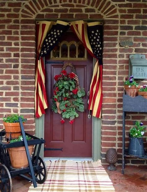 Cozy 4th Of July Door Decorations 05