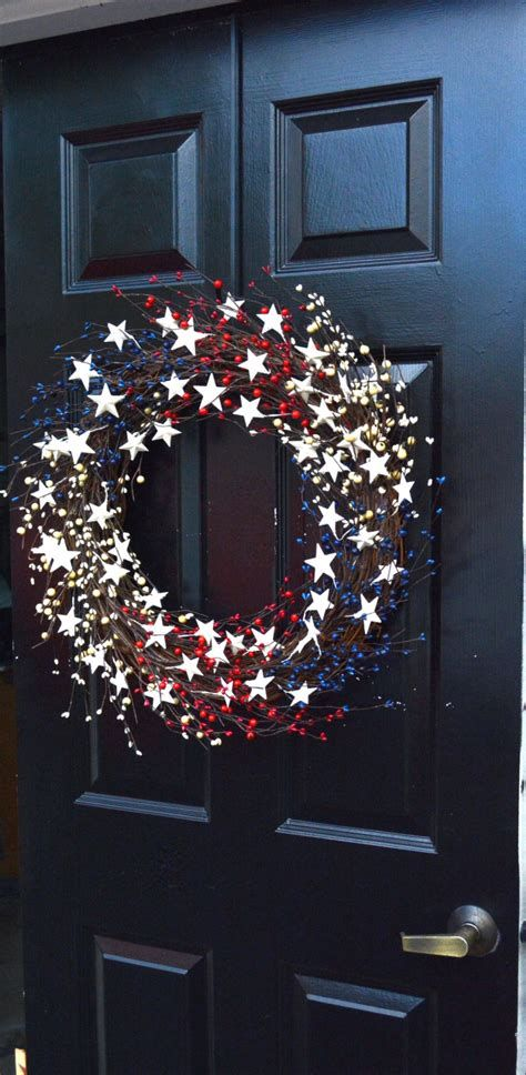 Cozy 4th Of July Door Decorations 06